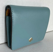 New Kate Spade New York Nadine small Bifold wallet Leather Seaside - $62.00