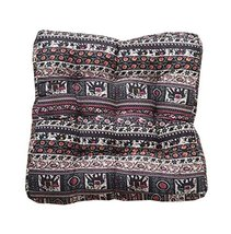 Square Soft Floor Cushions Japanese Style Tatami Pillows(21.6 inches,A24) - $35.12