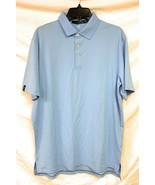 Men's Polo Ralph Lauren RLX Moisture Wicking Golf Shirt, Light Blue, Size M - $69.29