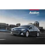 2015 Toyota AVALON sales brochure catalog 15 US XLE Limited Touring HYBRID - $8.00