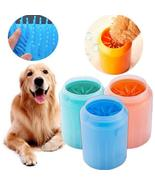 Dog Paw Cleaner Cup Soft Silicone Combs Portable Outdoor Pet towel Foot ... - $11.48+