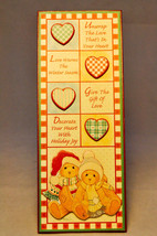 Cherished Teddies - Plaque - Hearts and Love - 881767 - Especially for You - $14.84