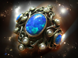 HAUNTED RING ETERNAL ATTRACTION BEAUTY & YO9UTH SECRET RARE EXTREME OOAK MAGICK - $4,673.89
