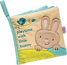 Douglas Baby Bunny Soft Plush Activity Book - $16.81
