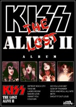 "KISS Rock Band ALIVE II ""The Lost Album"" Stand-Up Display - Gene Simmons... - $15.99"