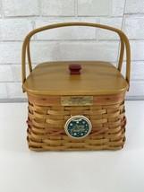 2000 Longaberger Christmas Collection Deck the Halls Basket Combo w/Lid - $32.95