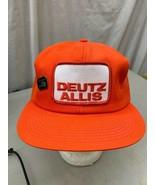 trucker hat baseball cap Vintage Snapback Mesh Patch Deutz Allis Tractor... - $49.99
