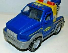 "Tonka Tow Truck Plastic #05340 Small 7"" 2004 Habro  - $12.73"