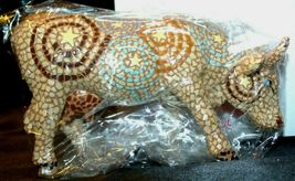 CowParade A Starry Night In Texas Item # 7255 Westland Giftware AA-191893 Vinta image 5