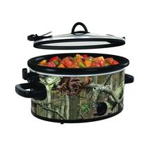 Crock-Pot 5-Quart Cook & Carry Oval Manual Portable Slow Cooker, Mossy Oak - $88.89