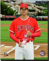 Shohei Ohtani May, 2018 Rookie of the Month Trophy-16x20 Photo-Stretched... - $94.95