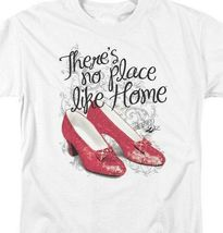 The Wizard of Oz t-shirt No Place Like Home ruby slippers graphic tee OZ109 image 3