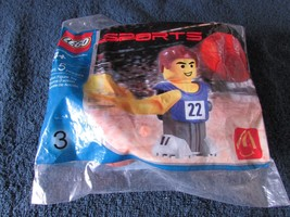 NEW! 2004 Mcdonald's LEGO SPORTS BASKETBALL #3 Happy Meal toy prize NIP - $7.99