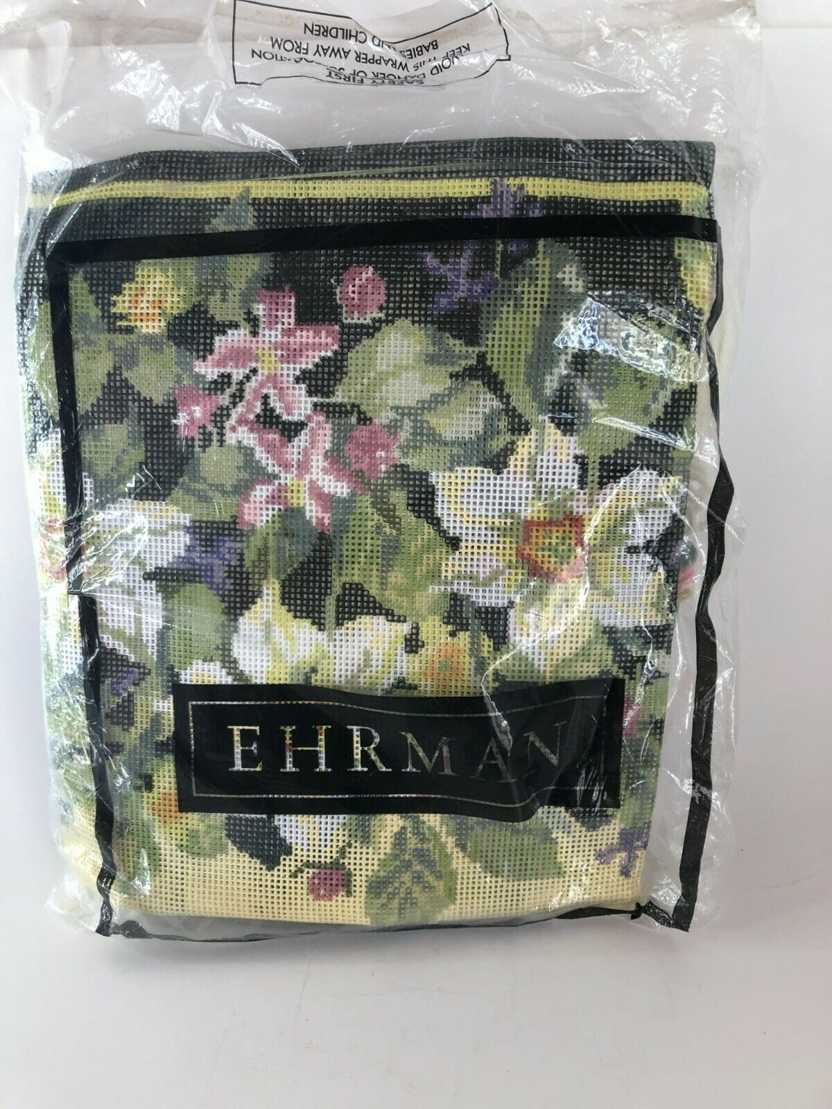 Primary image for Ehrman Tapestry Spring Needlepoint Kit 18x12 Murton Vtg 1993 New Open Complete