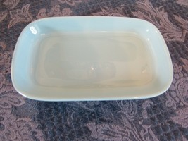"""Saudi Arabian Airlines Blue Meal Serving Dish Plate 7 3/8"""" By 4 5/8""""  - $7.43"""