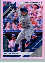 2019 Panini Donruss  - Career Stat Line #165.1 Base - Javier Baez (Batting) - $2.97