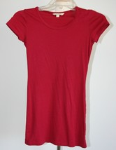 rubbish Cranberry Red Soft T-shirt size small Nordstrom - $9.89