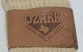 Ozark Saddle King Texas 09134M Roper Style Mohair Girth Cream Color image 3