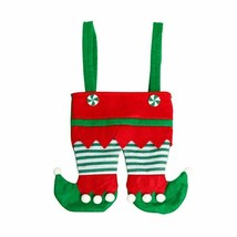 Christmas Elf Candy Bags Handbag  Hanging Pendant New Years Gifts For Ki... - $2.18+