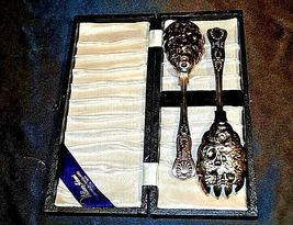William Adams Sheffield Silver Serving Spoon from England AA18-1334 Vintage image 4