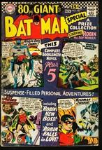 BATMAN #185-1966-DC-80 PAGE GIANT-GOOD G - $20.18