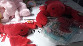 Ty Beanie babies, Beanie Buddies and Mcdonald's Teenie Beanies Pinchers image 3