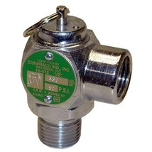 "SAFETY VALVE 1/2"" NPT 50 PSI 339 LBS/HR Conbraco 10-512-49 Groen Kettle ... - $141.00"