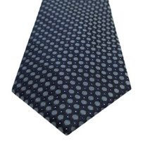 Kenneth Cole REACTION Men's Bling Dot Tie, Navy, One Size - $34.90