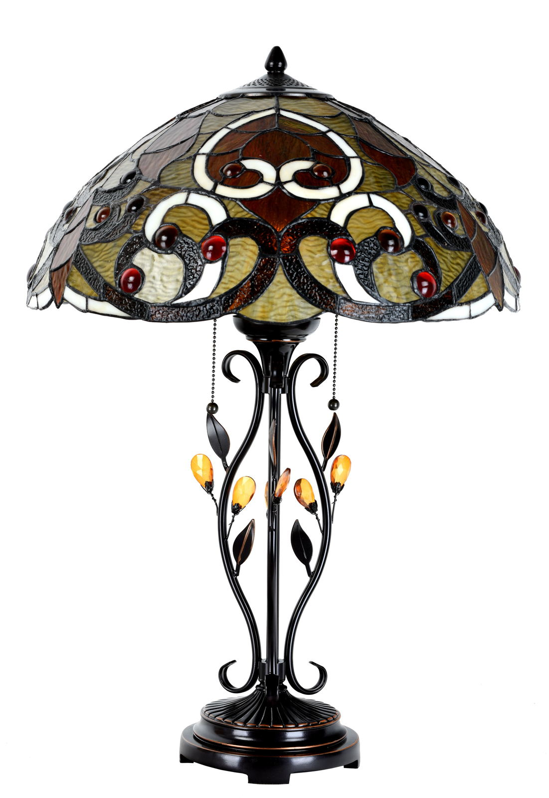 Tiffany Style Table Lamp Victorian Stained Glass Home Décor Desk Lamp