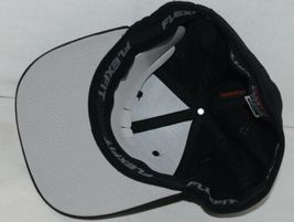 Flexfit Black 6277 Twill Hat XL XXL Permacurv Visor With Silver Undervisor image 6