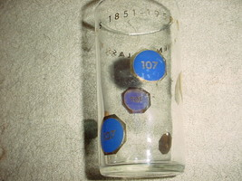 Corning Glass Works 1958 Anniversary Glass Rare 107th Free Usa Shipping - $15.88