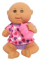 Cabbage Patch Kids Drink 'n Wet Bald Newborn Pink Hearts - $31.40