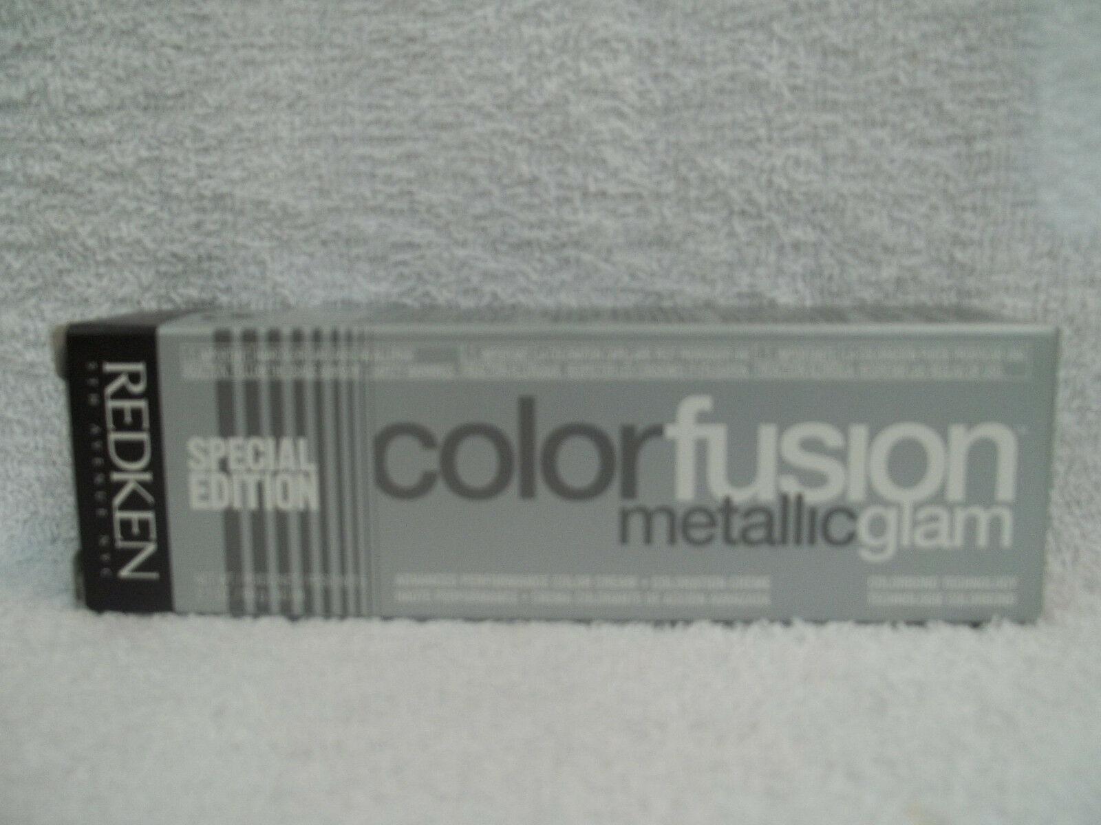 REDKEN Color Fusion METALLIC GLAM Professional Cream Hair Color ~U Pick~ 2 oz!!! - $5.58 - $11.33
