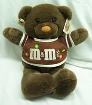 "VINTAGE 1987 MARS M&M's Chocolate Chums NIBBLEBITS BEAR 15"" Plush STUFFE... - $29.70"