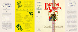 Burroughs, Edgar Rice. LOST ON VENUS facsimile dust jacket  1st Grosset ... - $21.56
