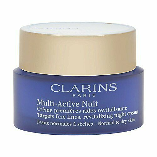 Primary image for Clarins Multi-Active Night Cream For Normal to Dry Skin, 1.7 oz