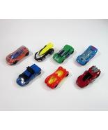 7 Mattel Hot Wheels Cars - August 1-28, 1995 McDonald's Happy Meal ToyPr... - $9.99