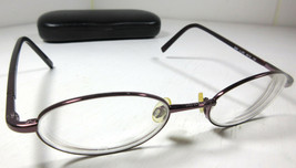 Anne Klein 9034 K1206 Oval Full Frame Plum Purple Eyeglass Frames - $19.75