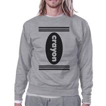 Crayon Grey SweatShirt - $20.99+