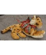 Vintage R Dakin Stuffed Bean Bag Lickety Leopard 1976 - $22.00