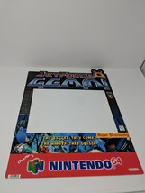 Nintendo 64 N64 Jet Force Gemini RARE Store Display Sign Promo Promotional VTG - $791.99