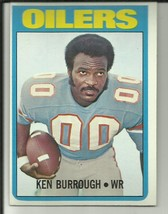 Ken Burrough 1972 Topps #26 Houston Oilers - $2.02