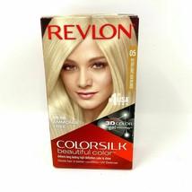 Revlon Colorsilk Beautiful Permanent Color 05 Ultra Light Ash Blonde - $5.94