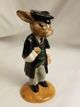 Royal Doulton Schoolmaster Bunnykins Figurine DB60 - $18.76