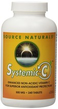 Source Naturals Systemic C™ 500mg 240 tablet - $22.75