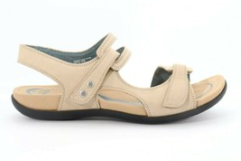 Abeo Crescent Strap Sandals Stone Size US 7 Post  Footbed (EP)4136 - $70.00