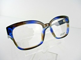 LIU JO JL 2672 (432) Striped Blue  53 x 15 135 mm Eyeglass Frame - $46.71