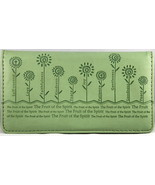 """Checkbook Cover Sage """"The Fruit of the Spirit"""" Galatians 5:22-26 Brand NEW - $13.14"""