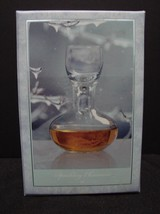 Hadeland Norway Inger Magnus Designed 20 cl  (7oz) Personal Decanter Hand Blown