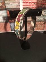 Authentic COACH Enameled Bangle Bracelet Silver Multi Butterfly- Retired - $64.00